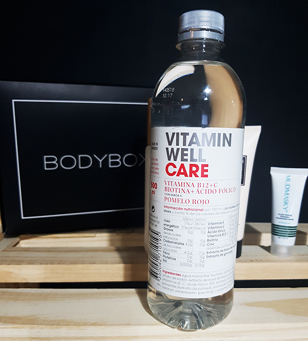 vitamin well care, vitaminas, piel, rostro, cabello, bodybox,